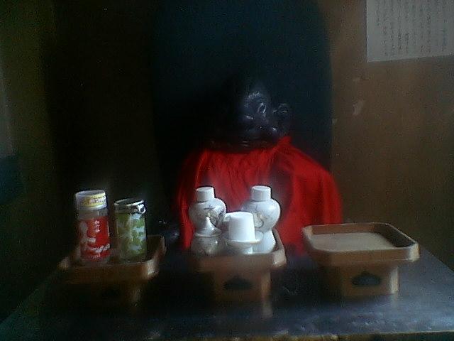 ★ビリケン神社。これが「中畑商店」の、守護神かなあ。松尾稲荷神社は不可思議なる、「縄文感覚」の重鎮。_c0061686_22385787.jpg