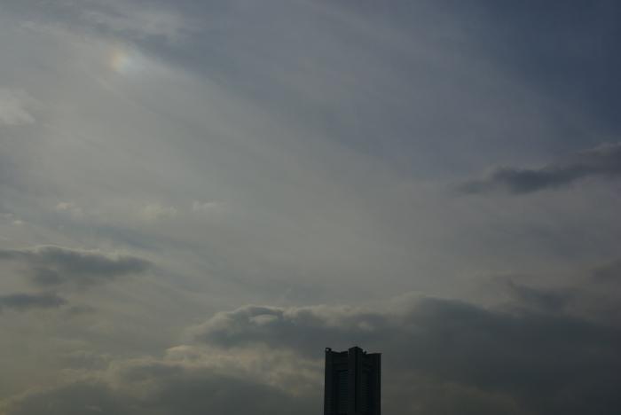 幻日、大桟橋より_e0077521_19532222.jpg