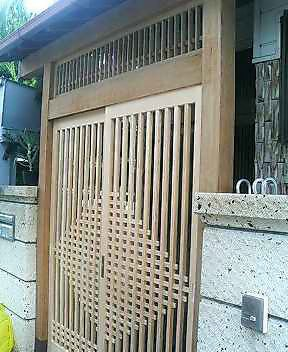 K邸門洗い工事_f0052181_1253199.jpg
