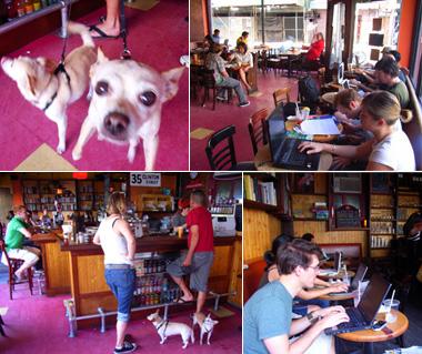 地元の方々に人気のカフェ-Lotus Lounge 35 Clinton _b0007805_311128.jpg
