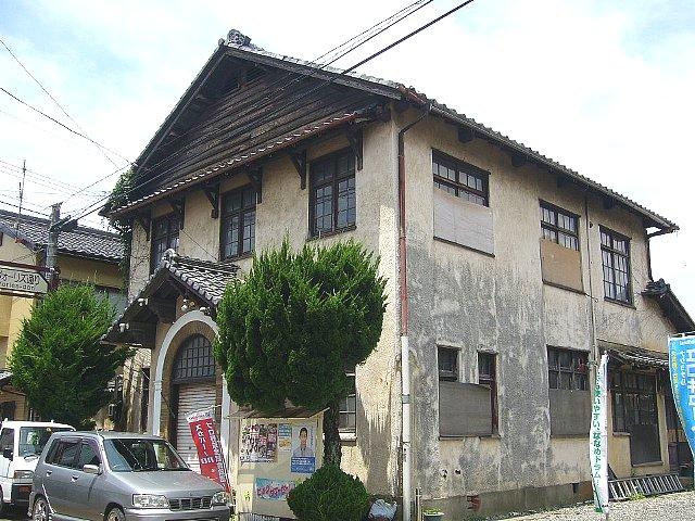 近江今津の旧今津郵便局_c0094541_1393967.jpg