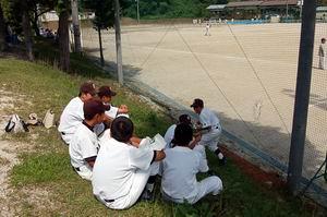 練習試合【中学野球】_d0010630_13105956.jpg