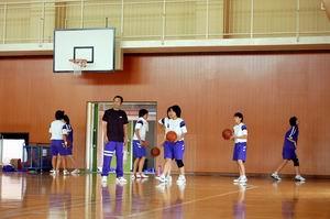 練習風景【女子バスケ】_d0010630_13554299.jpg