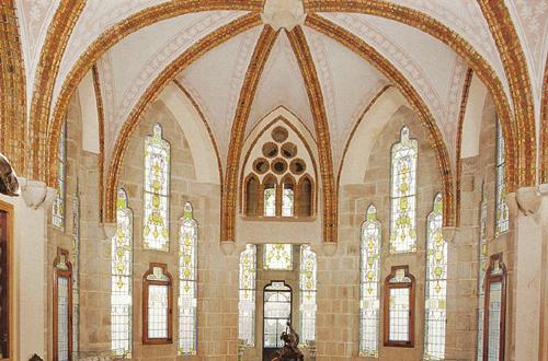 アントニ・ガウディアストルガの司教館内観
