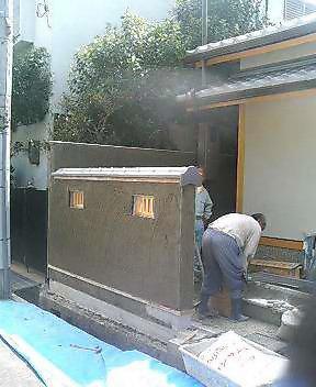 K邸外構工事_f0052181_21561389.jpg