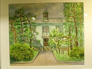 ひこね街の駅ギャラリー「那須順子 水彩画展」はじまる_f0017409_2218917.jpg