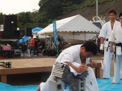 青い羽根チャリティー マリーナサンセットライブ2006本番_a0077071_13352085.jpg