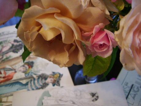 花のある帽子 ~♪エリック・サティ グノシエンヌ_f0007106_0514921.jpg