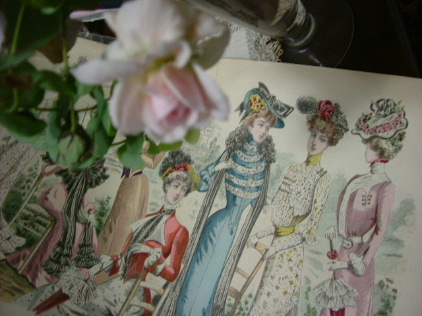 花のある帽子 ~♪エリック・サティ グノシエンヌ_f0007106_1013100.jpg