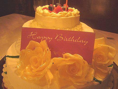 ♡。・*。゚+  代官山 タブローズ TABLEAUX で Happy  Happy birthday  .+゚。*・。♡_a0053662_0183579.jpg