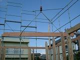 建て方工事:いろはの、い_c0091593_21133861.jpg