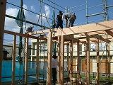 建て方工事:いろはの、い_c0091593_21135254.jpg