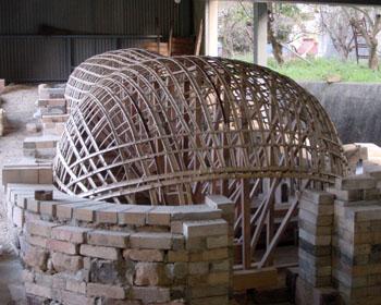 窖窯を作る/窯型完成!_c0081499_1912249.jpg