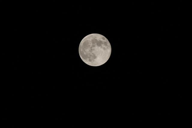今日の満月_f0037633_2234137.jpg