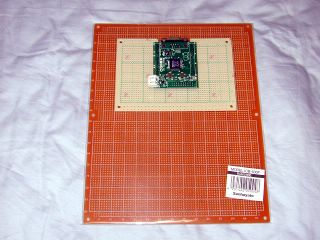 a new ADuC7026 base board