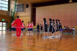 練習試合【中学女子バスケットボール】_d0010630_15381132.jpg