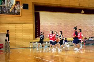 練習試合【中学女子バスケットボール】_d0010630_1681952.jpg