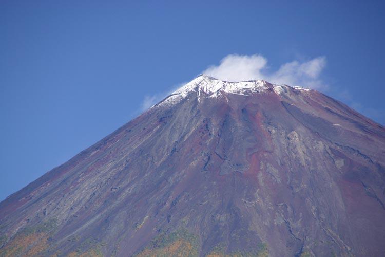 富士山 初冠雪_c0067206_925377.jpg