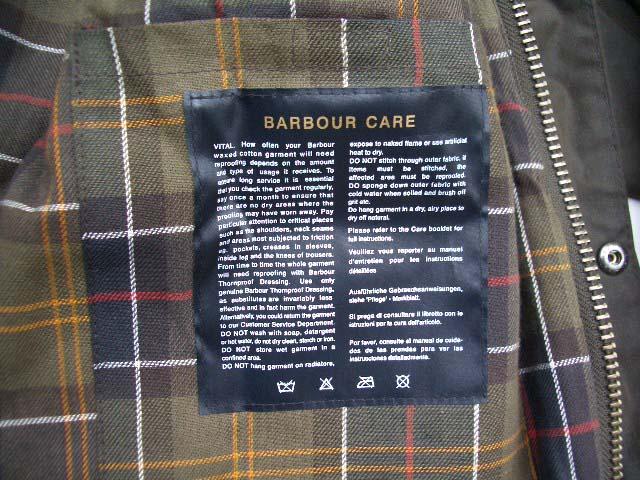 barbour freeman jacket/フリーマンジャケット_f0051306_1012161.jpg