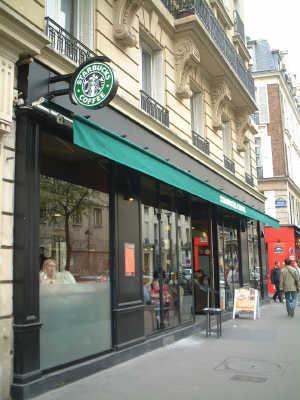 ■パリのスタバ(Starbucks)_a0014299_1981589.jpg