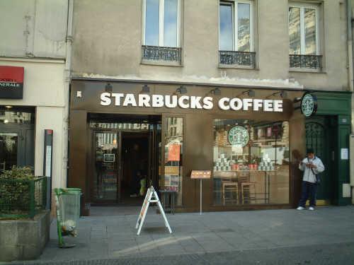 ■パリのスタバ(Starbucks)_a0014299_198521.jpg