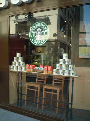 ■パリのスタバ(Starbucks)_a0014299_1991084.jpg