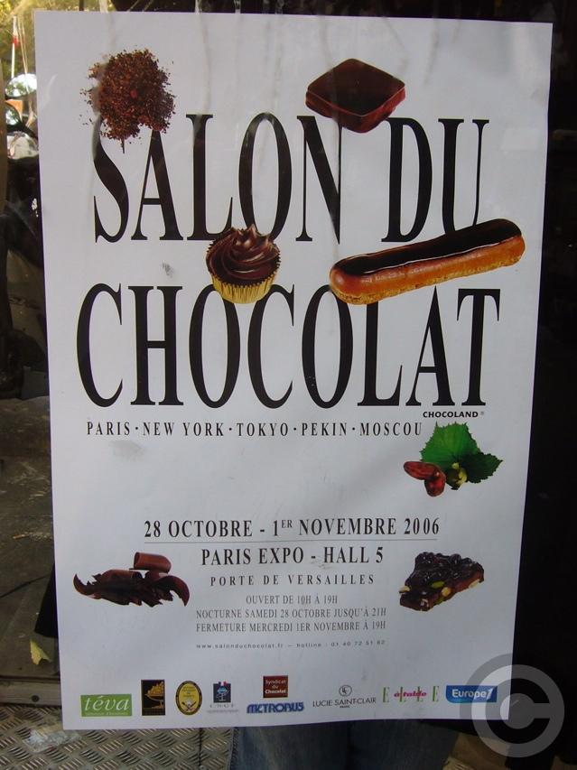 ■第12回チョコレート展(パリ)SALON DU CHOCOLAT2006_a0014299_721921.jpg