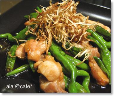 カリカリ♪ゴボウと、鶏の甘辛炒め_a0056451_12592182.jpg