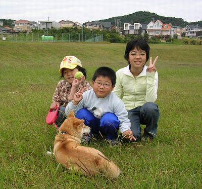 2006年10月15日(日)・・・龍平君姉妹と愛ちゃん_f0060461_20514070.jpg