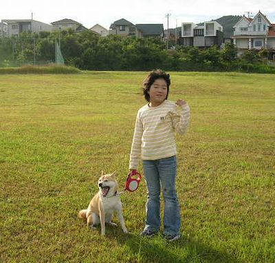 2006年10月15日(日)・・・龍平君姉妹と愛ちゃん_f0060461_21124812.jpg
