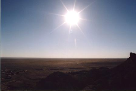 チュニジア 旅日記9 (塩湖から谷へ)_f0059796_0283858.jpg