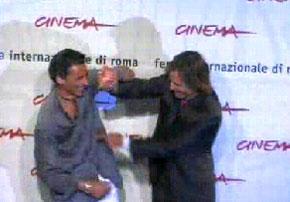 ローマ映画祭 フォトコール ビデオクリップ_b0064176_6353165.jpg