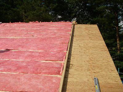 Q1前沢の家07:屋根外側付加断熱_e0054299_23543037.jpg