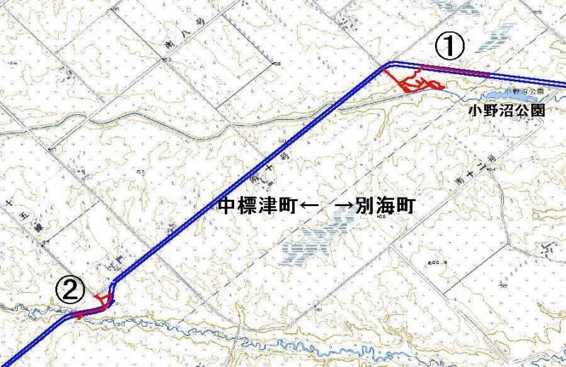 10月19日(木):殖民軌道跡中春別線跡へ その1_e0062415_18455731.jpg