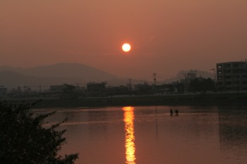 """こころ和む""""夕日"""" 美しい♪_d0082356_1744456.jpg"""