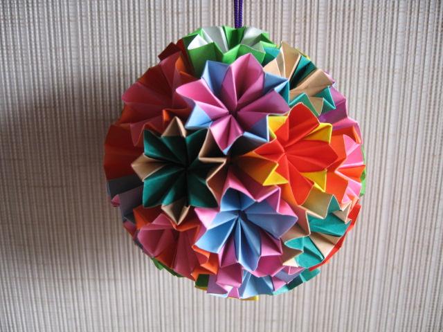 折り 折り紙 くす玉折り紙折り方 : divulgando.net
