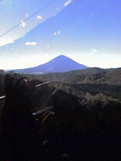 10月8日箱根は快晴!富士山と会話!_d0027507_915654.jpg