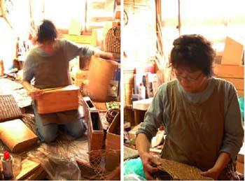あけび籠作り〜工房訪問_d0023111_18591457.jpg