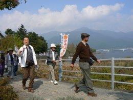 富士河口湖もみじマーチ_f0019247_13174070.jpg