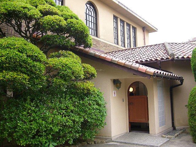 神戸女学院 文学館_c0094541_13474387.jpg