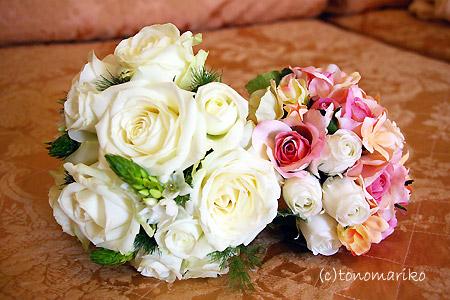 花嫁さんのブーケ選び_c0024345_1739959.jpg