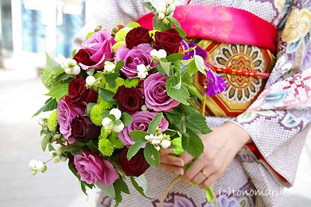 花嫁さんのブーケ選び_c0024345_17474915.jpg