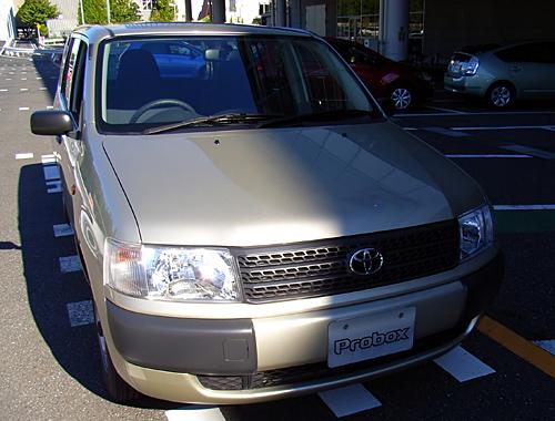 [試乗インプレッション]トヨタ・プロボックス 1.3DX_a0009562_20525843.jpg