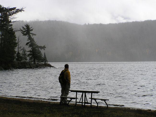 カナダ便り  湖にて_a0027125_8462953.jpg