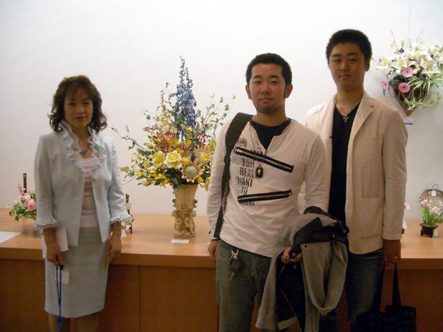 2006\' 花のフェスタ パンフラワー作品展 始まる!!_d0079522_1826324.jpg