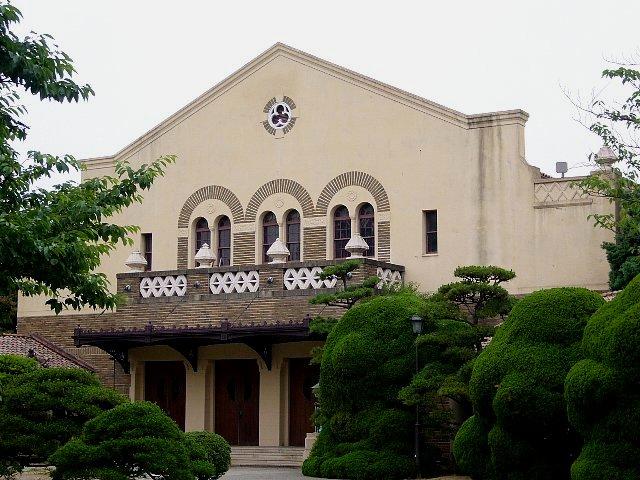 神戸女学院 総務館・講堂・ソールチャペル_c0094541_131701.jpg