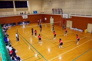 練習試合【バレーボール】_d0010630_103613.jpg