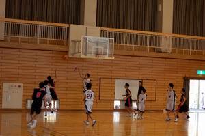 練習試合【中学男子バスケットボール】_d0010630_11291968.jpg