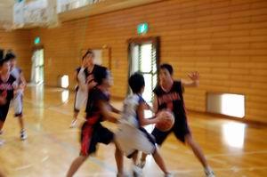 練習試合【中学男子バスケットボール】_d0010630_11294485.jpg