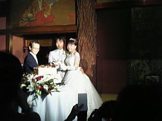 ご結婚、おめでとう!_d0054704_1175126.jpg